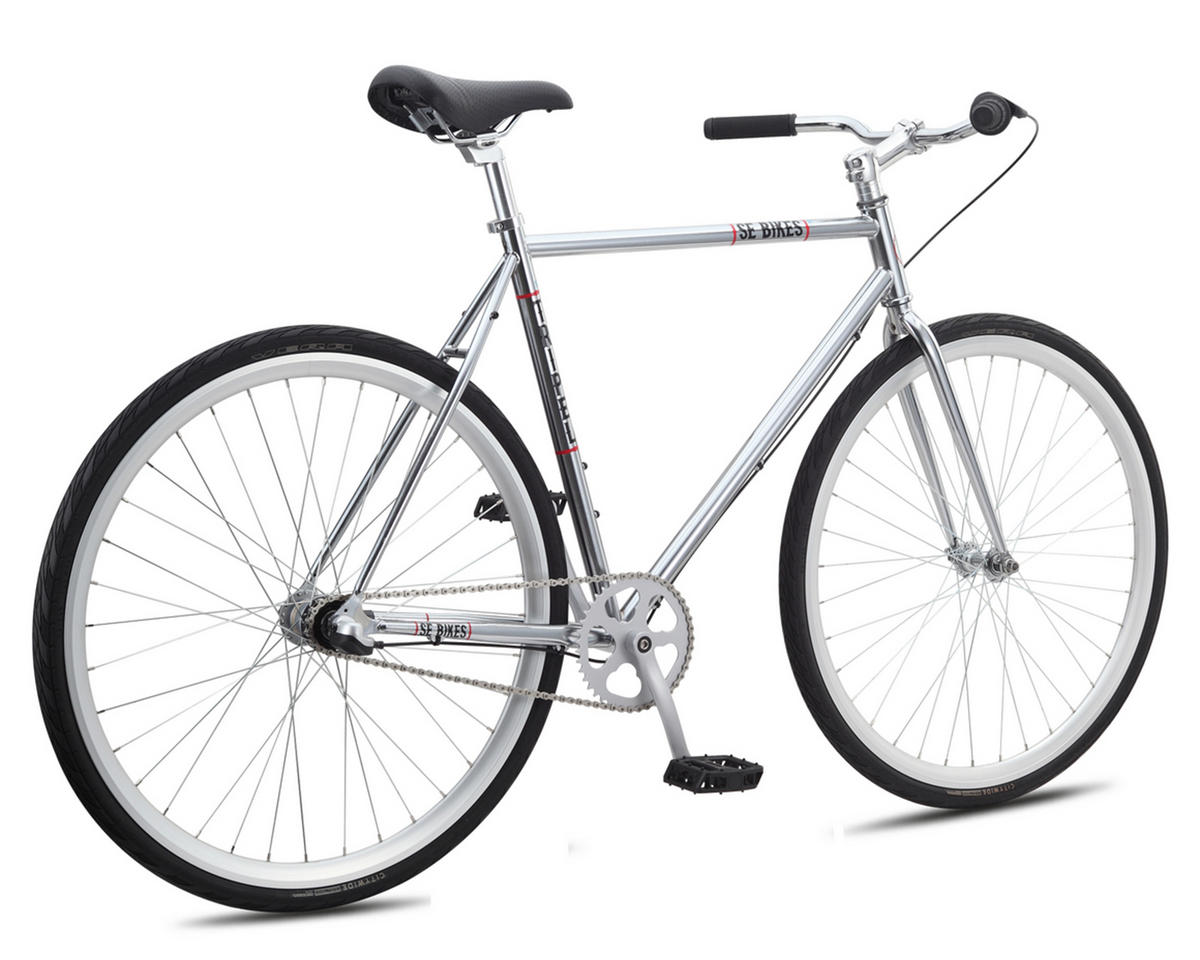 SE Racing Tripel Chrome City Bike - 2015 (Chrome)