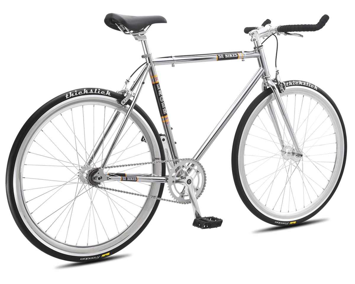 SE Racing 2016 Lager Single-Speed Fixed Gear Road Bike (Chrome) (43cm 650)