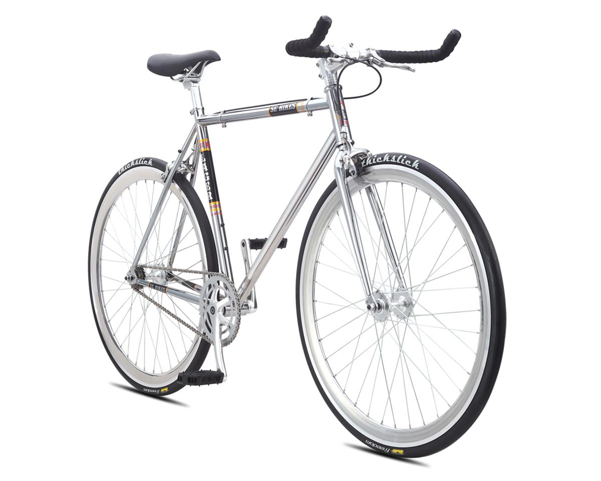 SE Racing 2016 Lager Single-Speed Fixed Gear Road Bike (Chrome) (58cm)