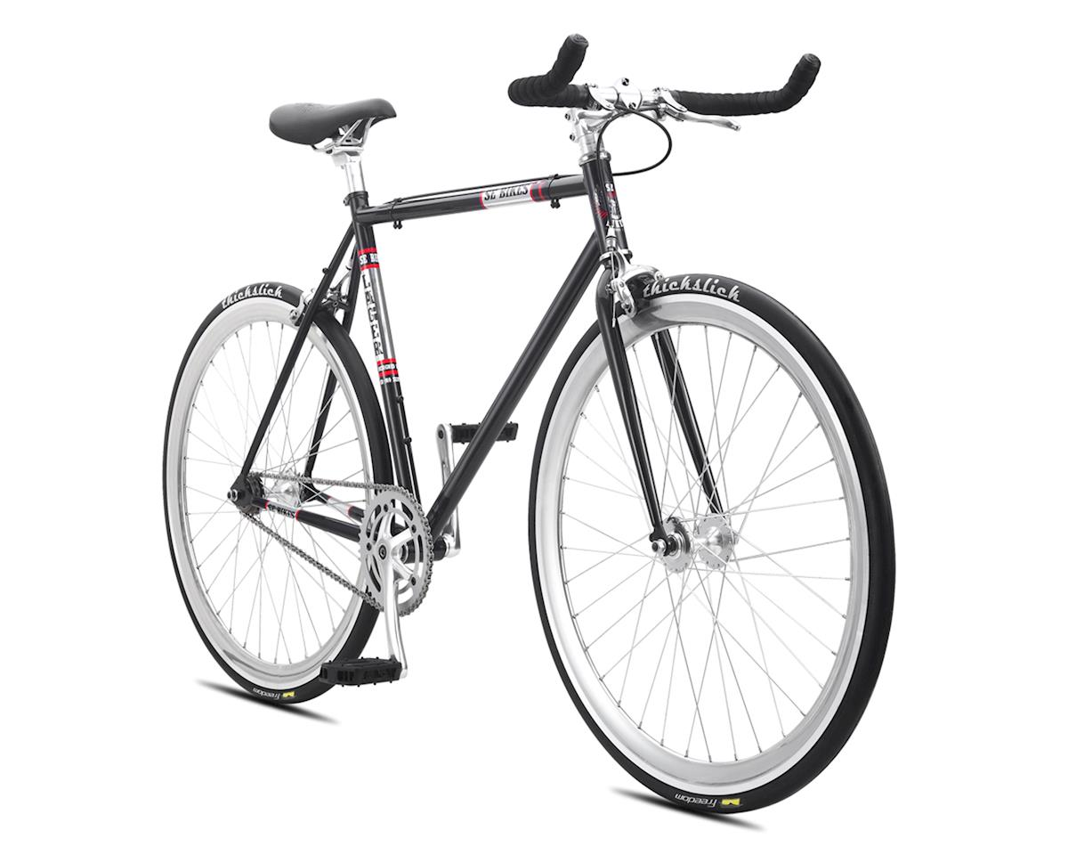 SE Racing 2016 Lager Single-Speed Fixed Gear Road Bike (Metallic Black) (43cm 650)