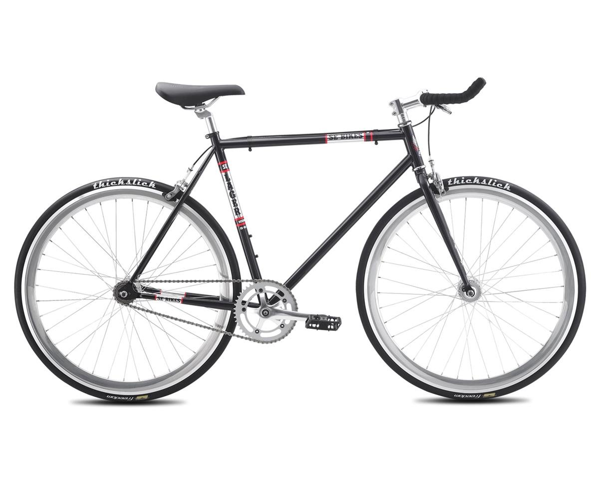 2016 Lager Single-Speed Fixed Gear Road Bike (Metallic Black)