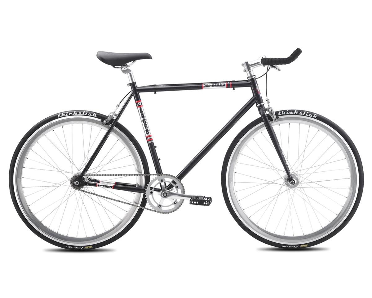 SE Racing 2016 Lager Single-Speed Fixed Gear Road Bike (Metallic Black)