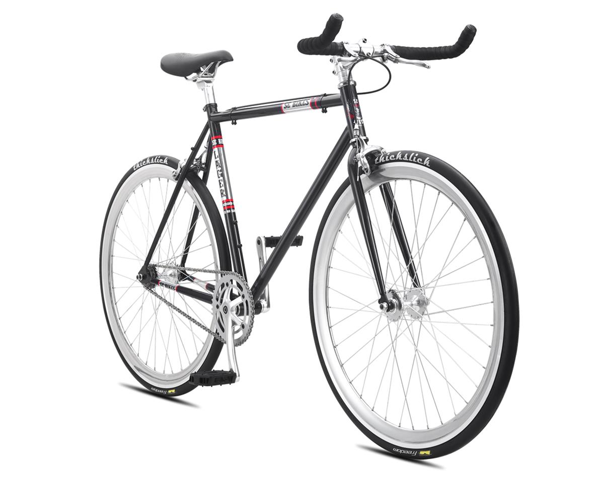 SE Racing 2016 Lager Single-Speed Fixed Gear Road Bike (Metallic Black) (52cm)