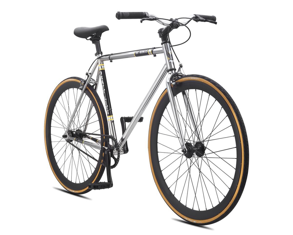 SE Racing 2016 Draft Lite Single-Speed Fixed Gear Road Bike (Chrome) (52cm)