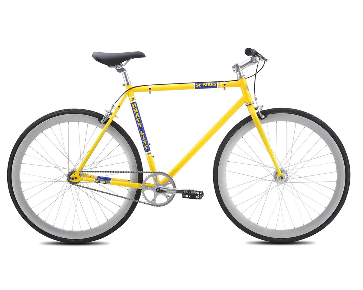 2016 Draft Lite Single-Speed Fixed Gear Road Bike (Yellow)