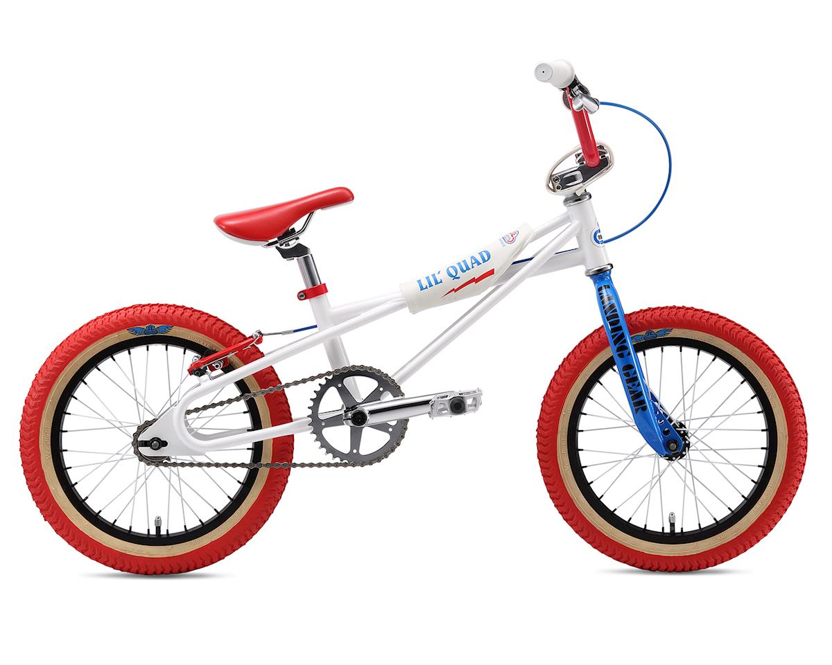 "2018 LiL' Quad 16"" BMX Bike (White)"