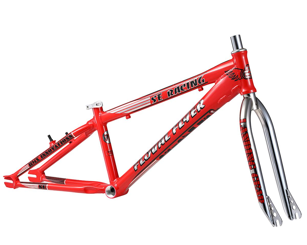 SE Racing Floval Flyer 24 Frame and Forks (Red)