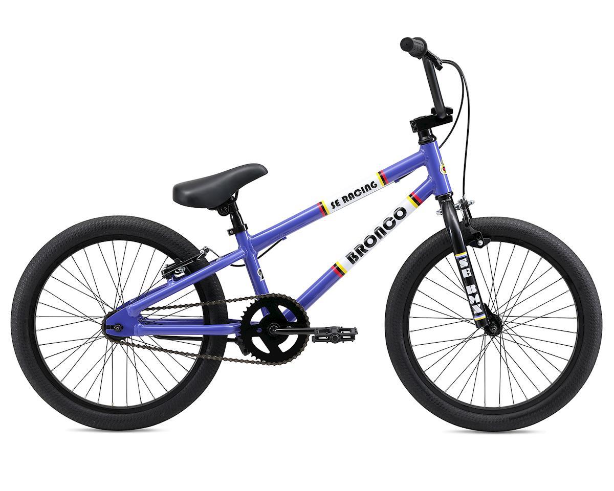 SE Racing 2019 Bronco 20 BMX Bike (Purple)