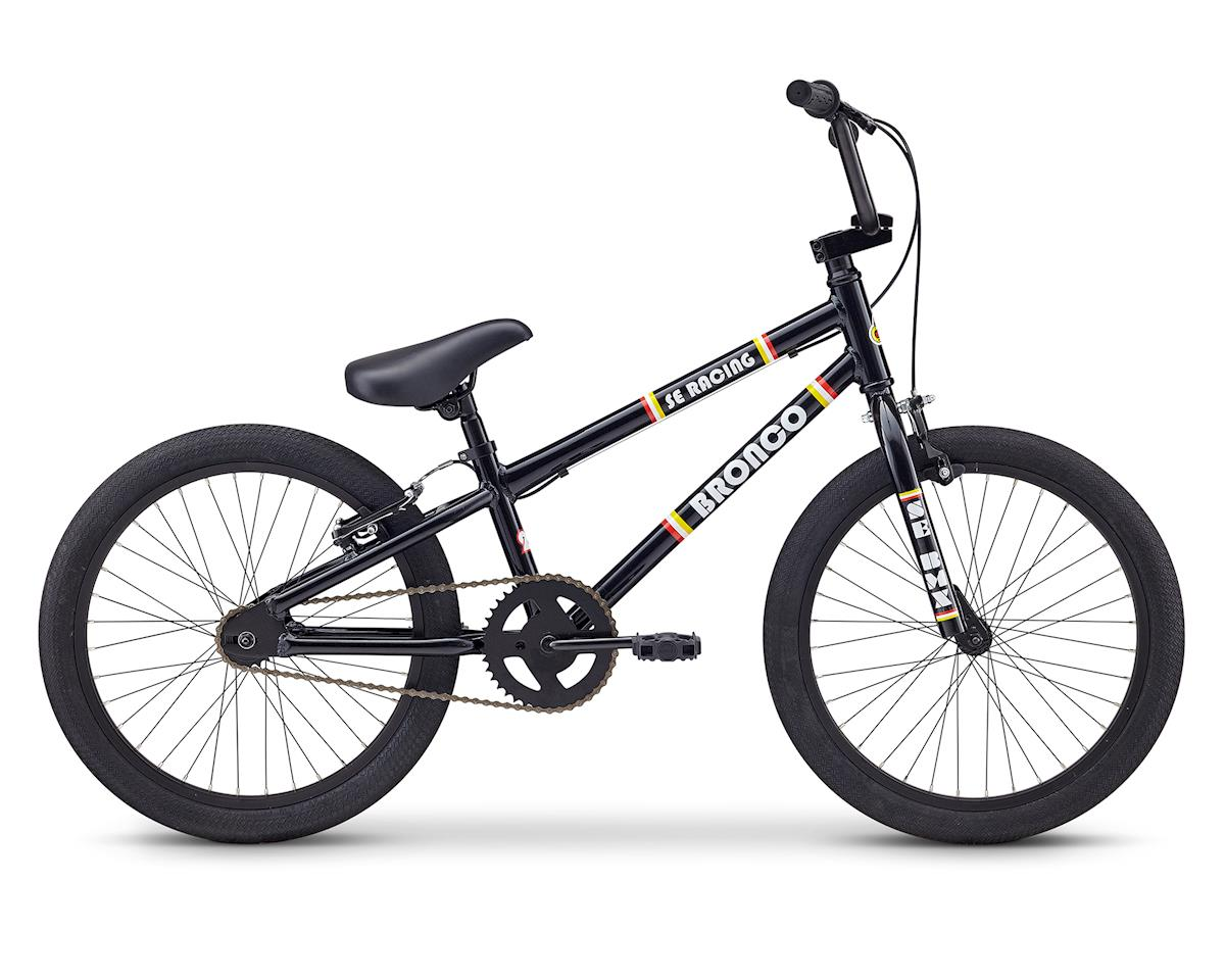 SE Racing 2019 Bronco 20 BMX Bike (Black)