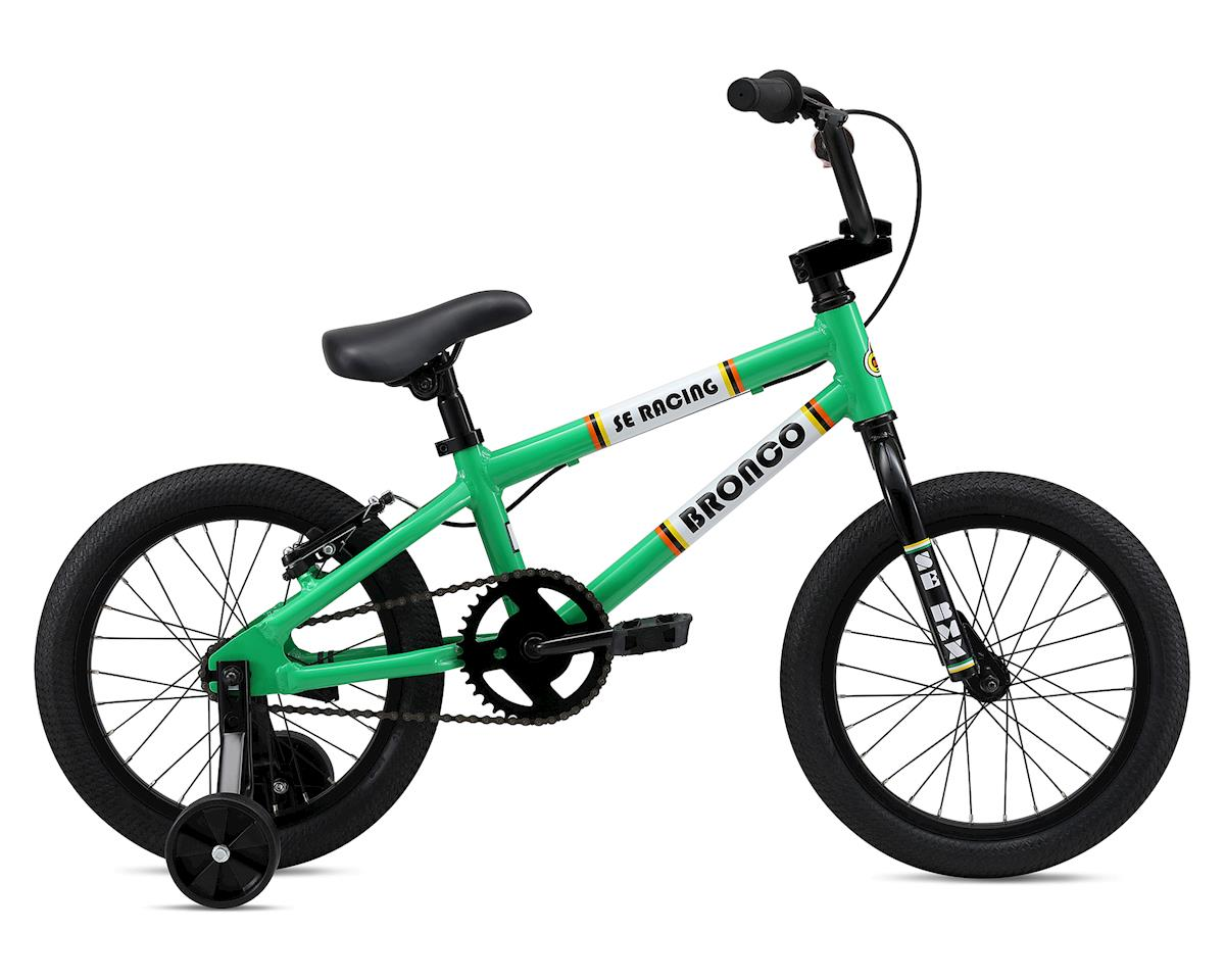 SE Racing 2019 Bronco 16 Kids Bike (Green)