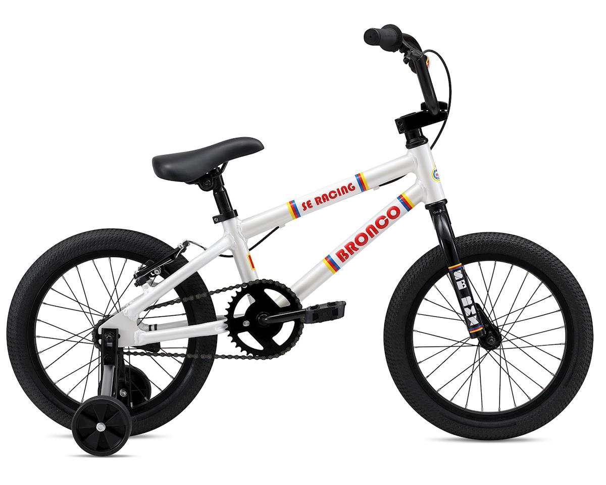 SE Racing 2019 Bronco 16 Kids Bike (White)