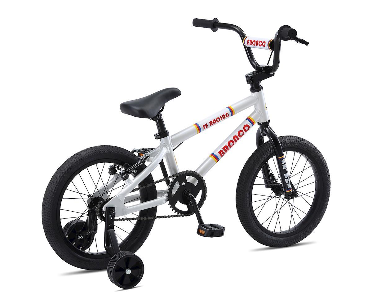 SE Racing 2019 Bronco 16 Kids Bike (White)