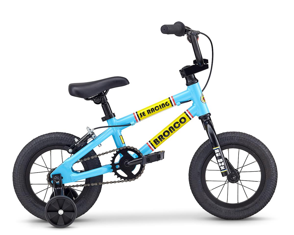 SE Racing 2019 Bronco 12 Kids Bike (Blue)