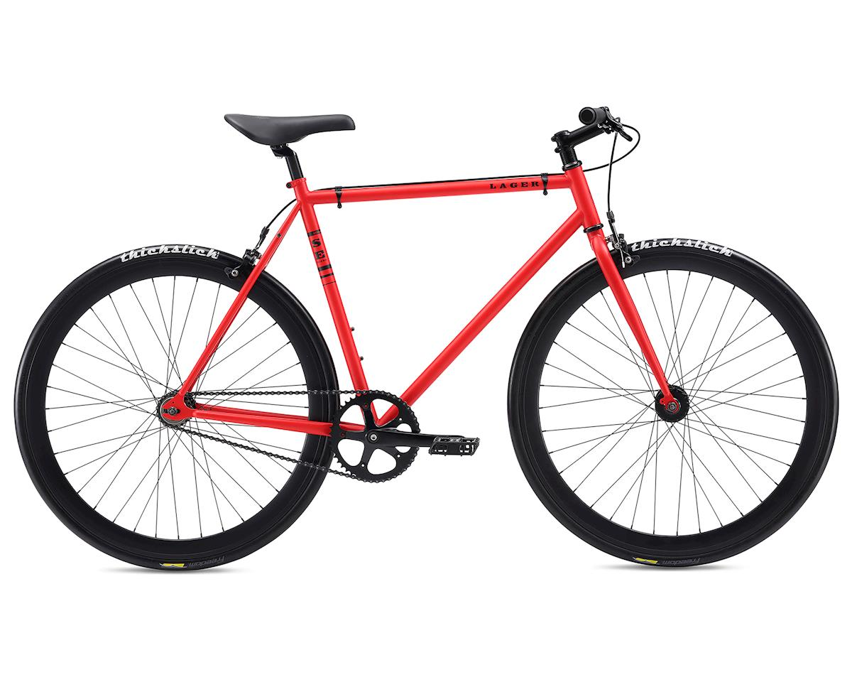 2018 Lager City Bike (Matte Red) (55cm)
