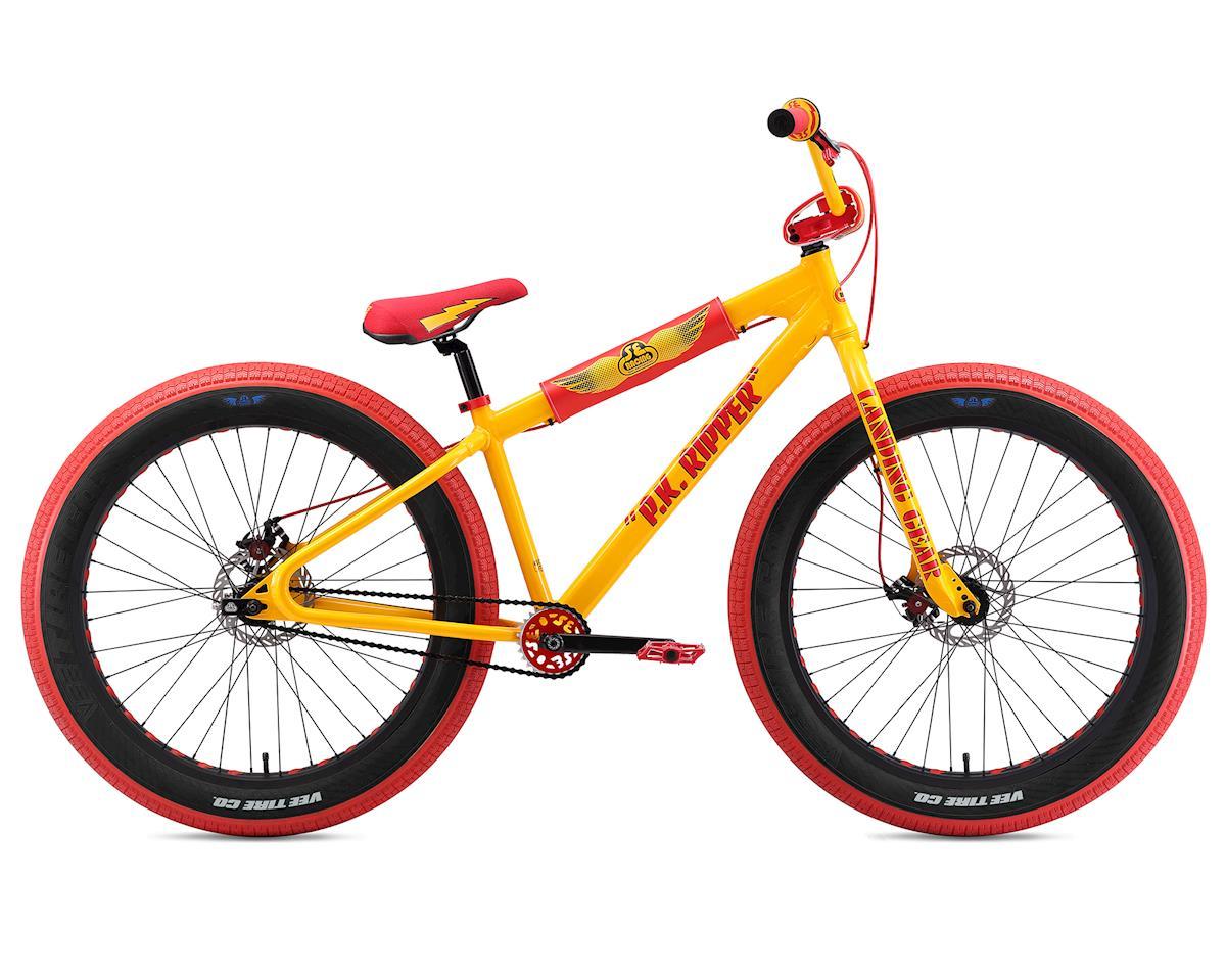 SE Racing Bikes BMX P.K RIPPER White Stickers Decal Set