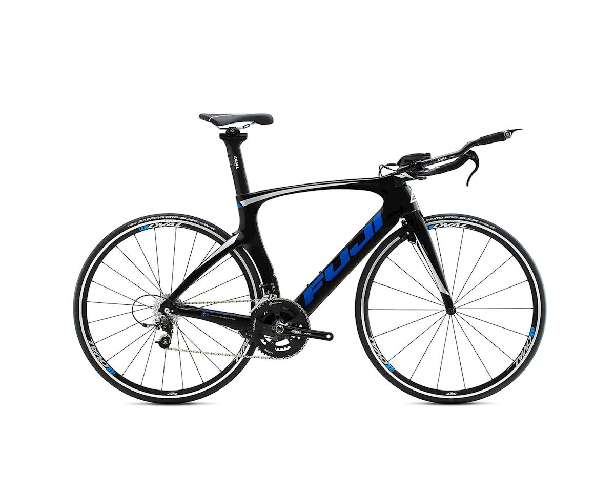 SE Racing Fuji Norcom Straight 2.3 Triathlon Road Bike - 2015 (Carbon Blue) (55)