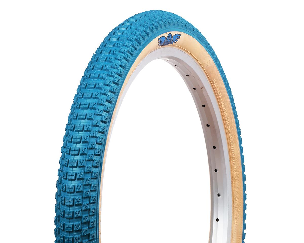 SE Racing Cub BMX Tire (Blue/Skinwall) (20 x 2.0)