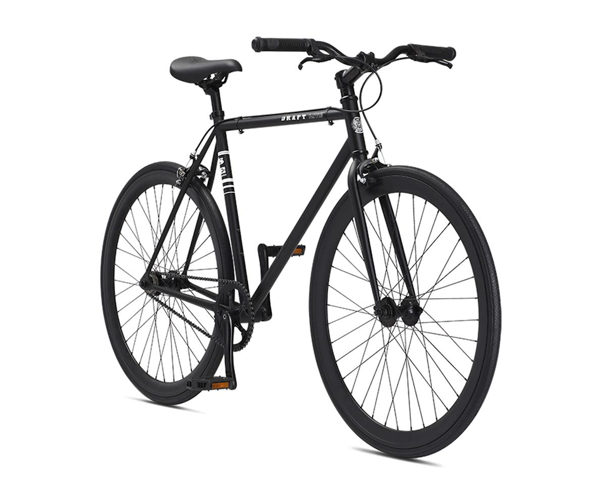 SE Racing Draft Lite Urban Single Speed Road Bike - 2017 (Matte Black) (58)