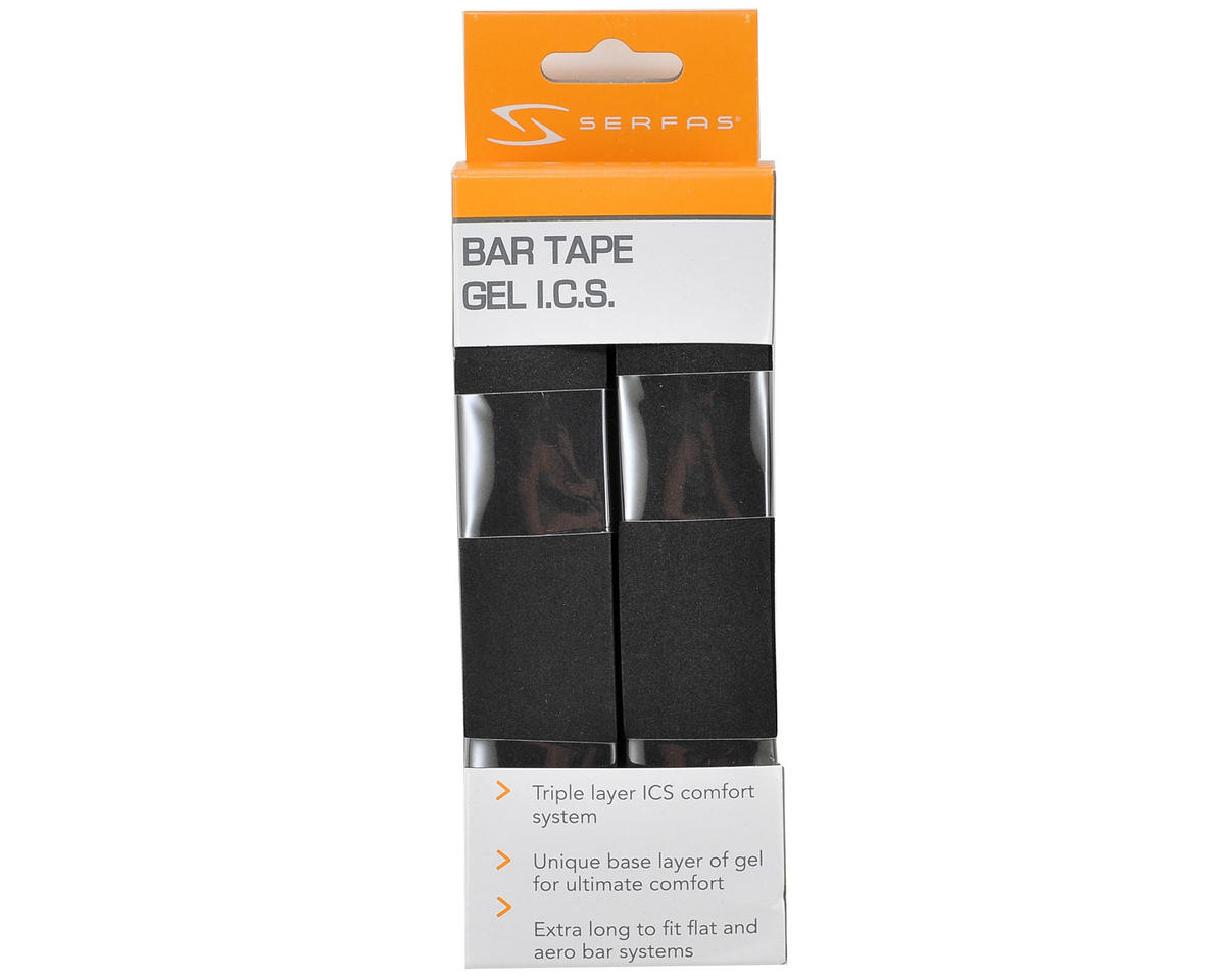 Serfas Gel Road Bar Tape (Black)