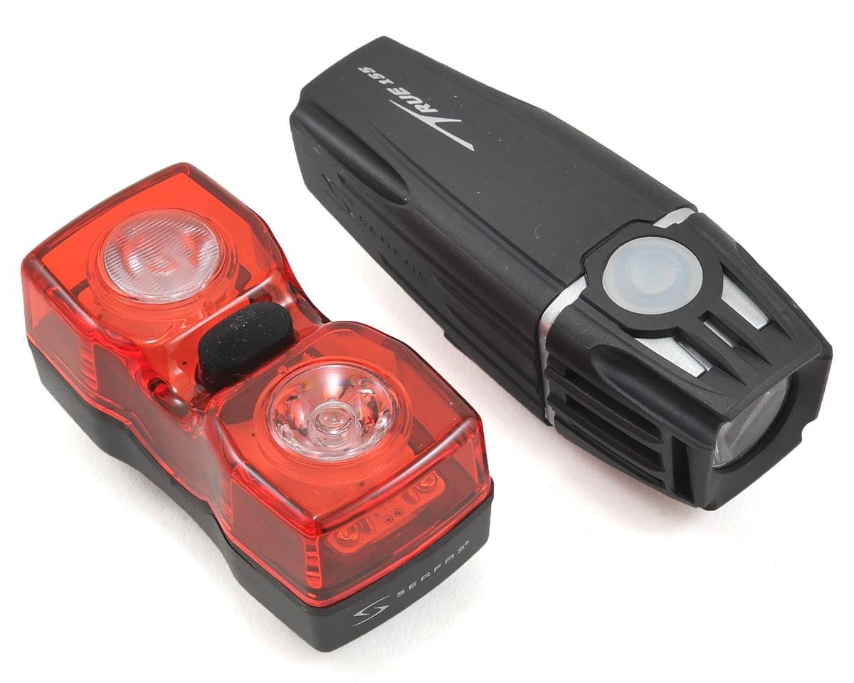 Serfas 155 Lumen Bike Headlight & UTL-200 Tail Light Combo