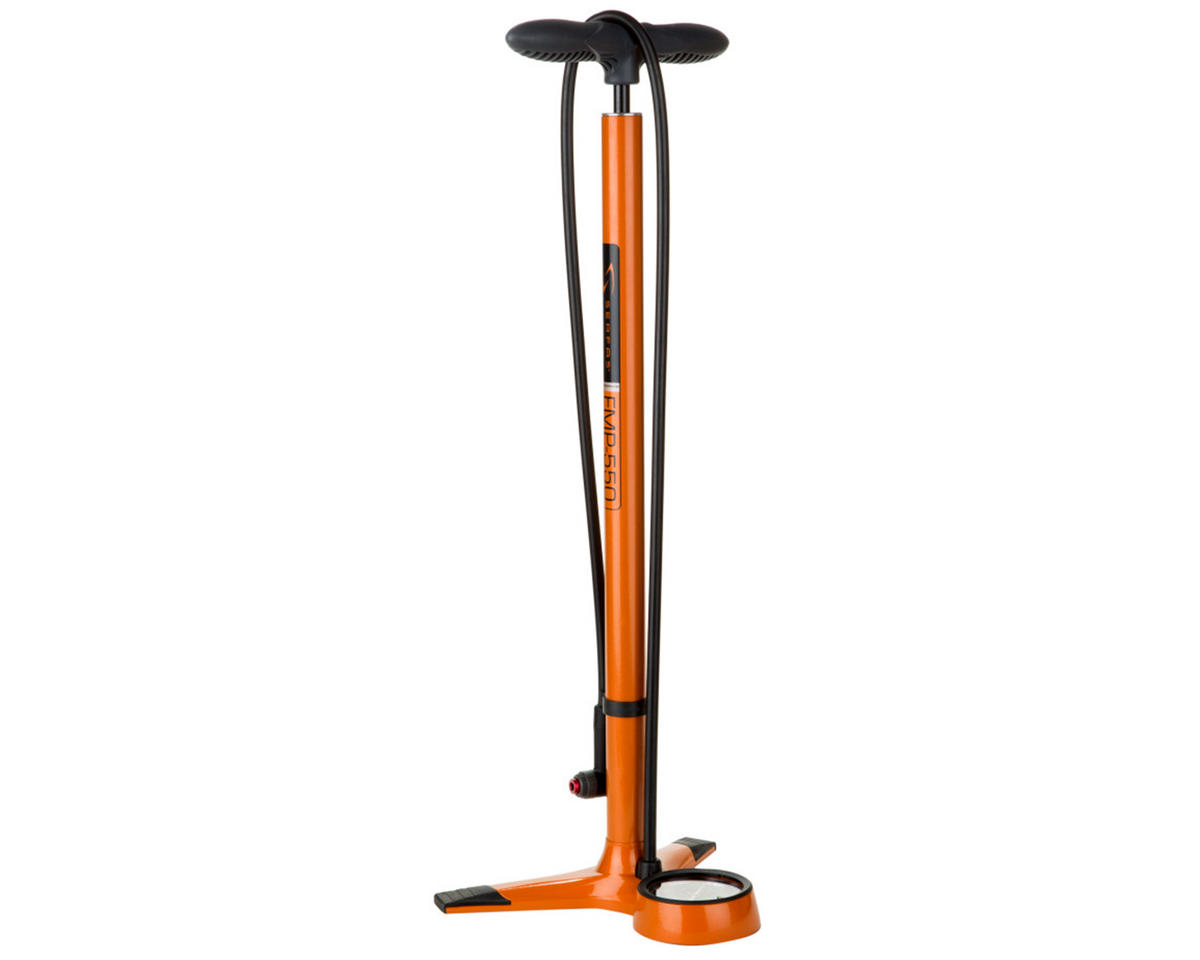 Serfas FMP-550 Floor Bike Pump (Orange)