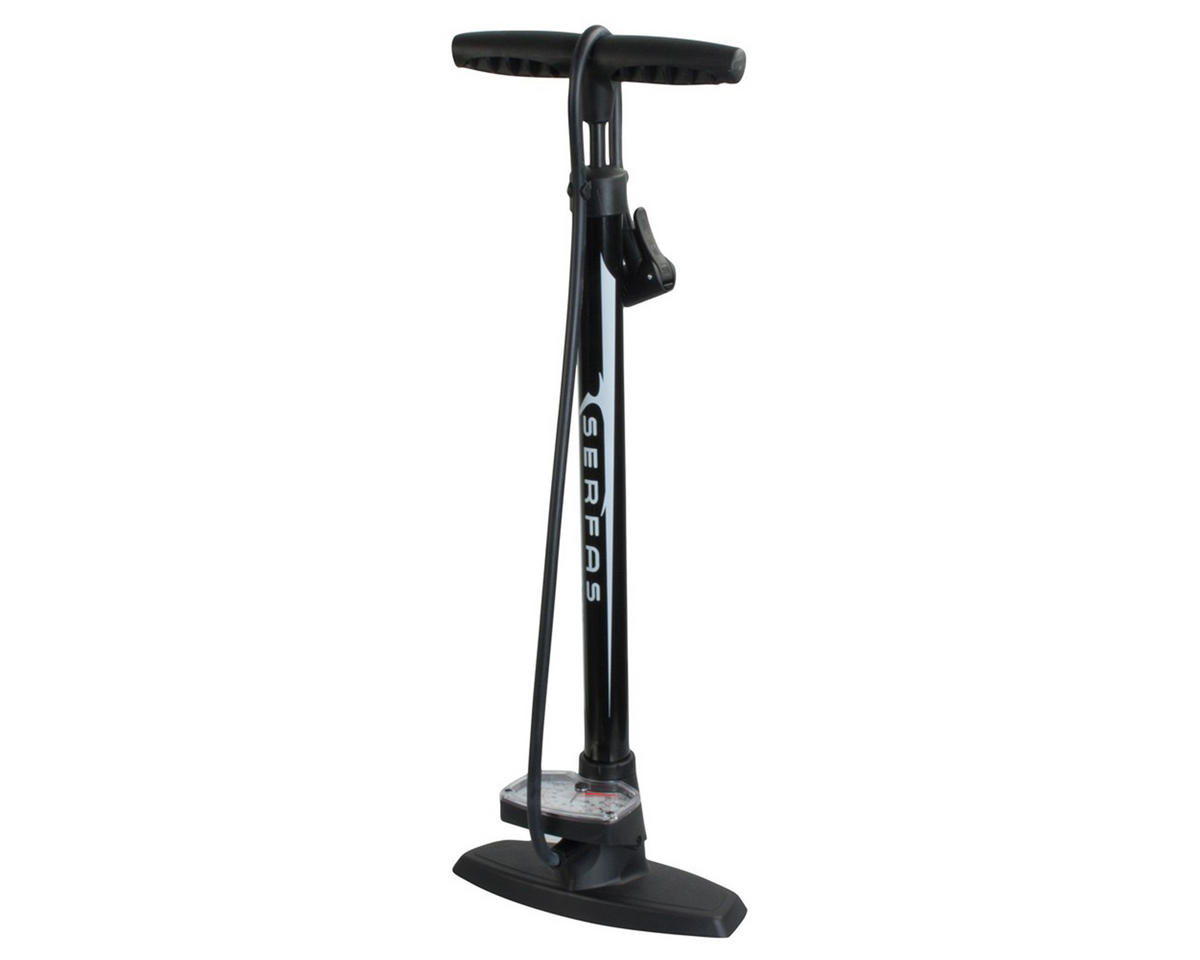 Serfas Metal Barrel Floor Bike Pump