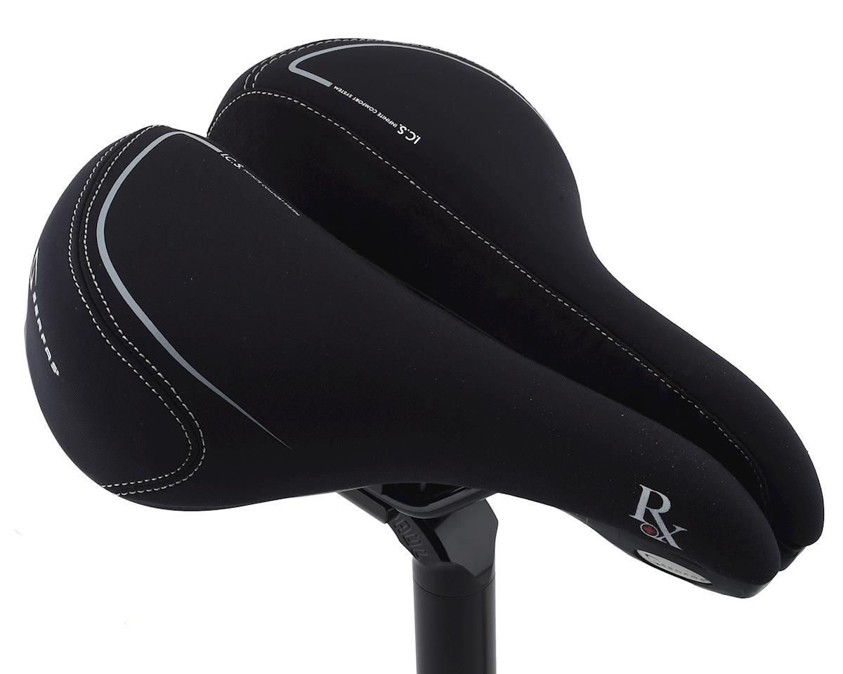 Serfas RX Hybrid Saddle w/ Elastomers (Lycra Cover)