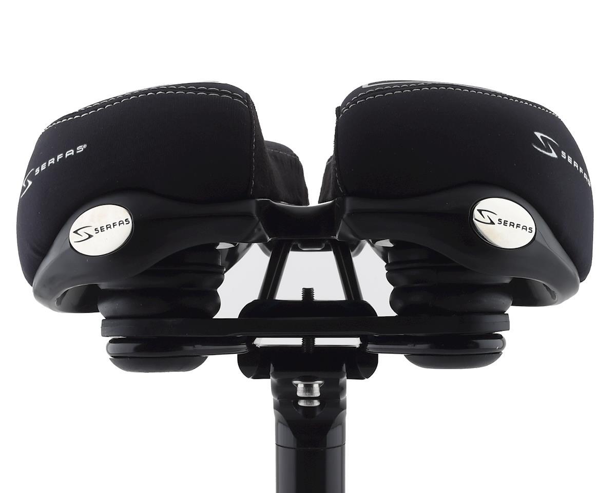 Image 3 for Serfas RX Hybrid Saddle w/ Elastomers (Lycra Cover)