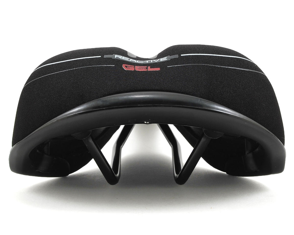 Serfas Men's Reactive Gel Saddle (Lycra)