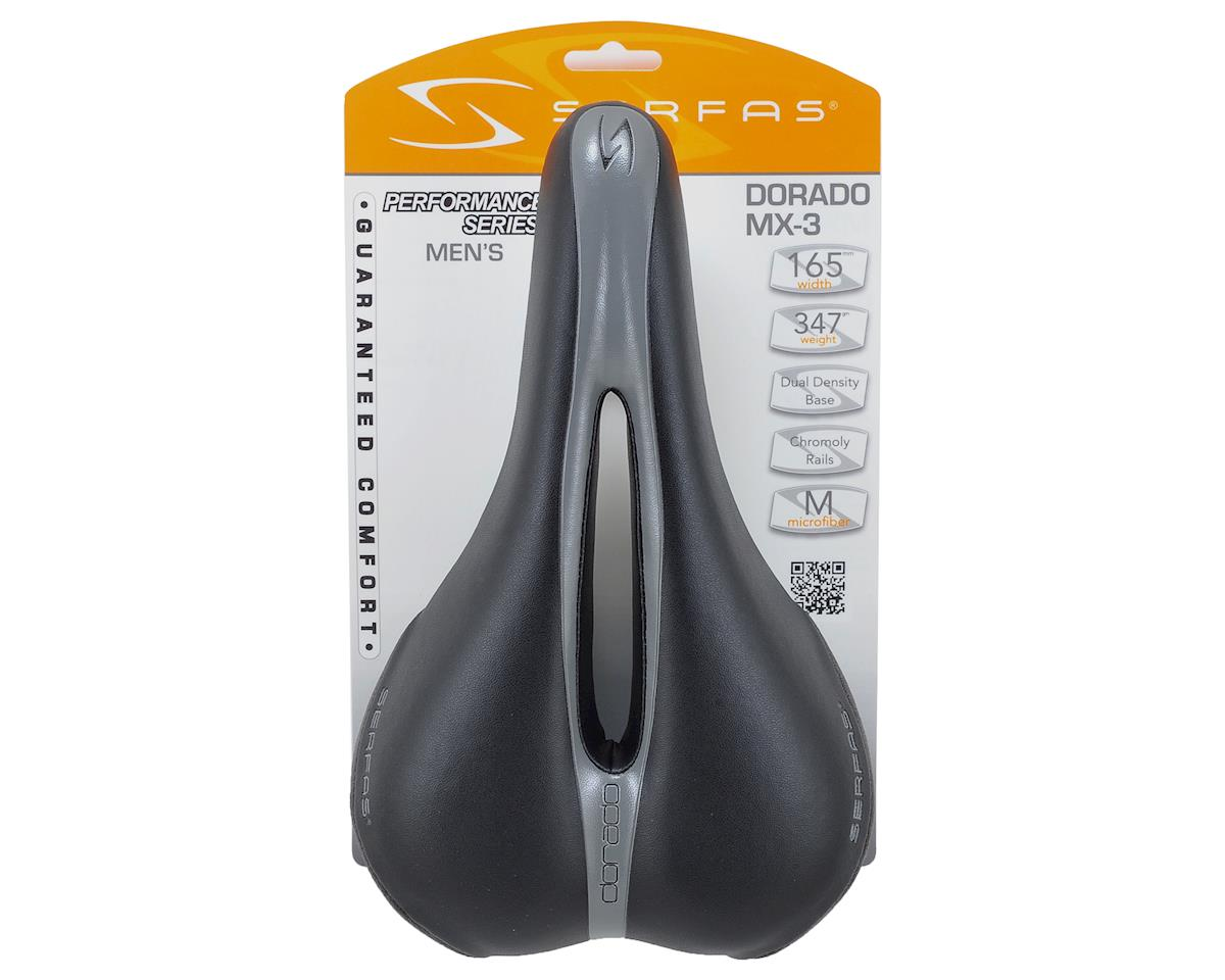 Serfas 2014 Men's Dorado Chromoly Saddle