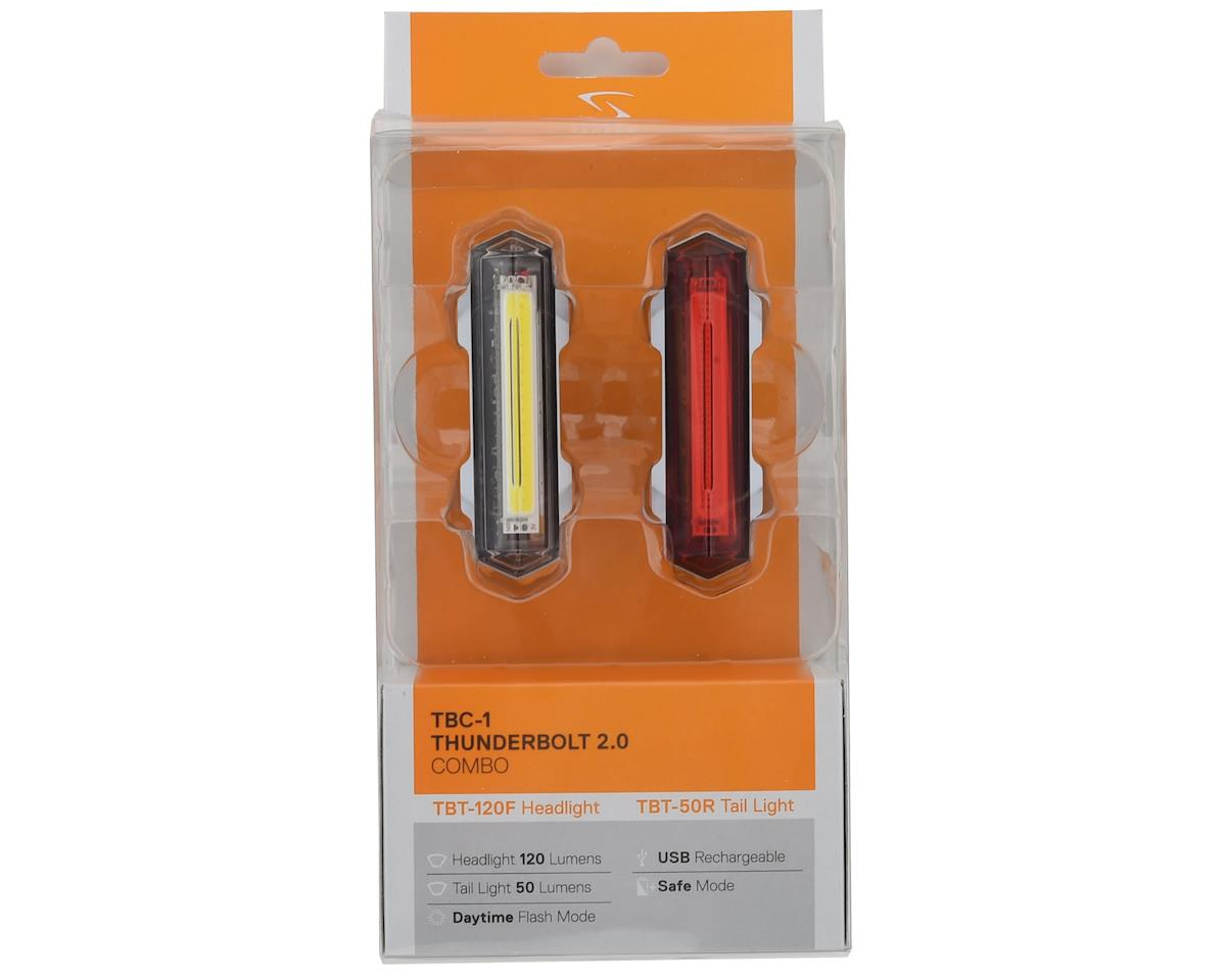 Serfas Thunderbolt 2.0 Combo (50/120 Lumens)