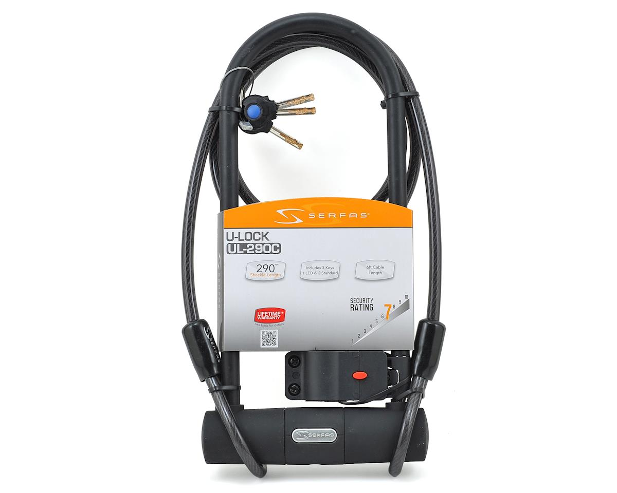 Serfas UL-290 U-Lock with Cable