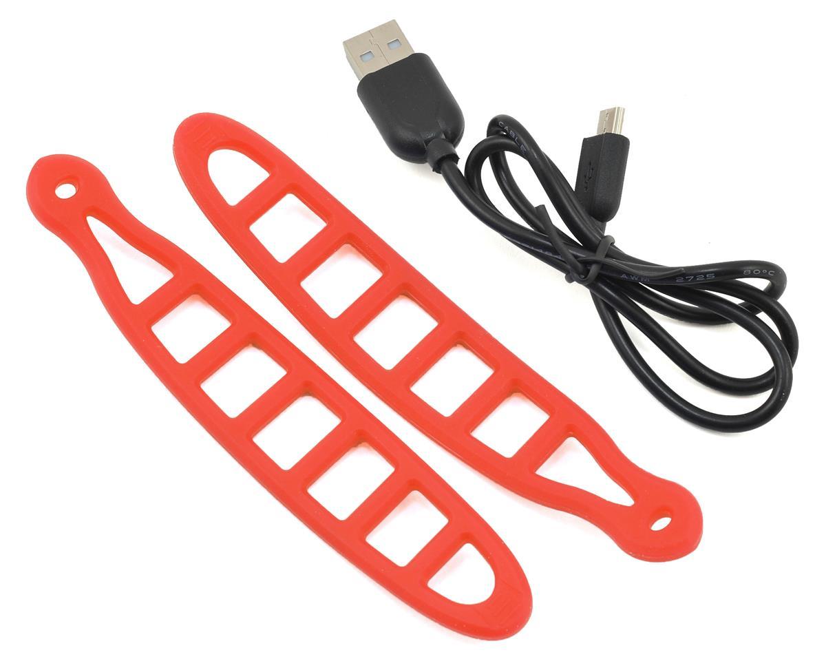 Serfas Thunderbolt USB Bike Headlight (Red)