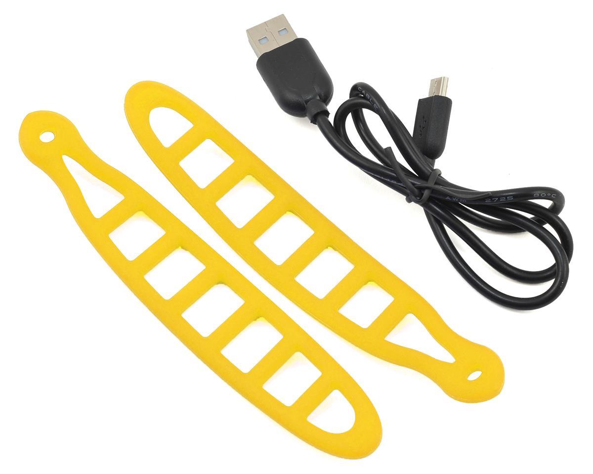 Serfas Thunderbolt USB Bike Headlight (Yellow)