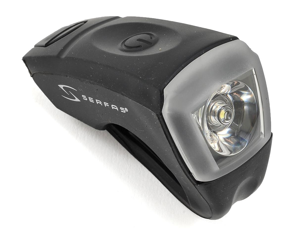 Serfas USB Silicone Bike Headlight (Black)