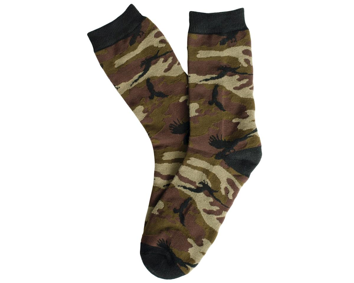 The Shadow Conspiracy Crow Camo Crew Socks (Camo) (One Size Fits Most)