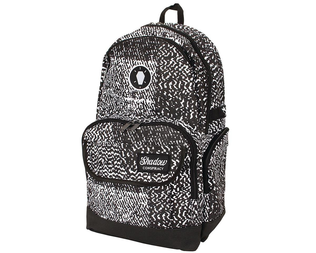 The Shadow Conspiracy Static Backpack (Black/White) | relatedproducts