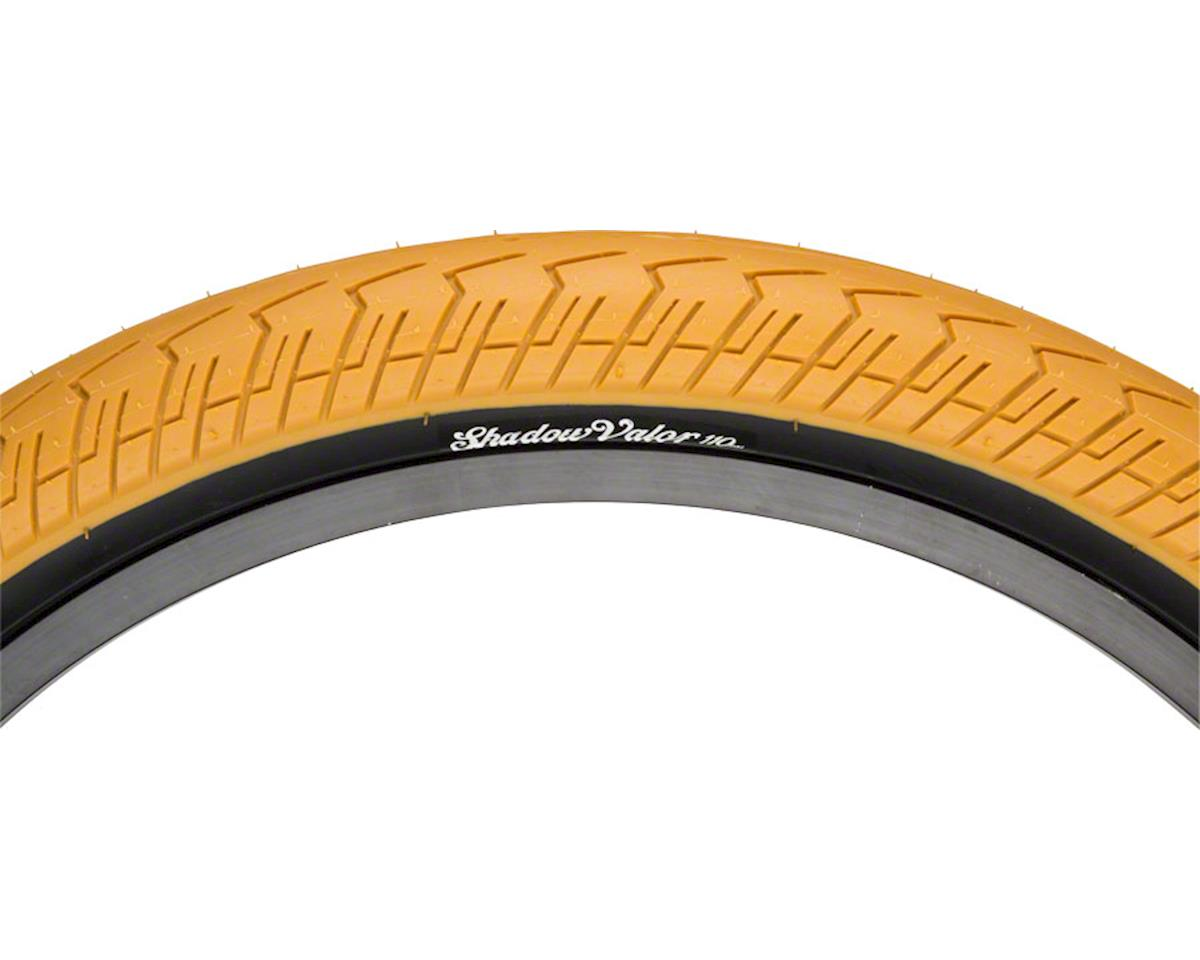 "The Shadow Conspiracy Valor Tire 20"" x 2.2"" Gum Tread Black Sidewall"