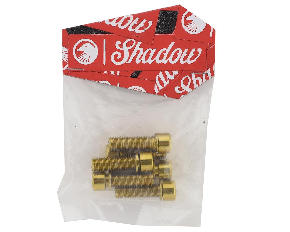 The Shadow Conspiracy Hollow Stem Bolt Kit (Gold) (6) (8 x 1.25mm)