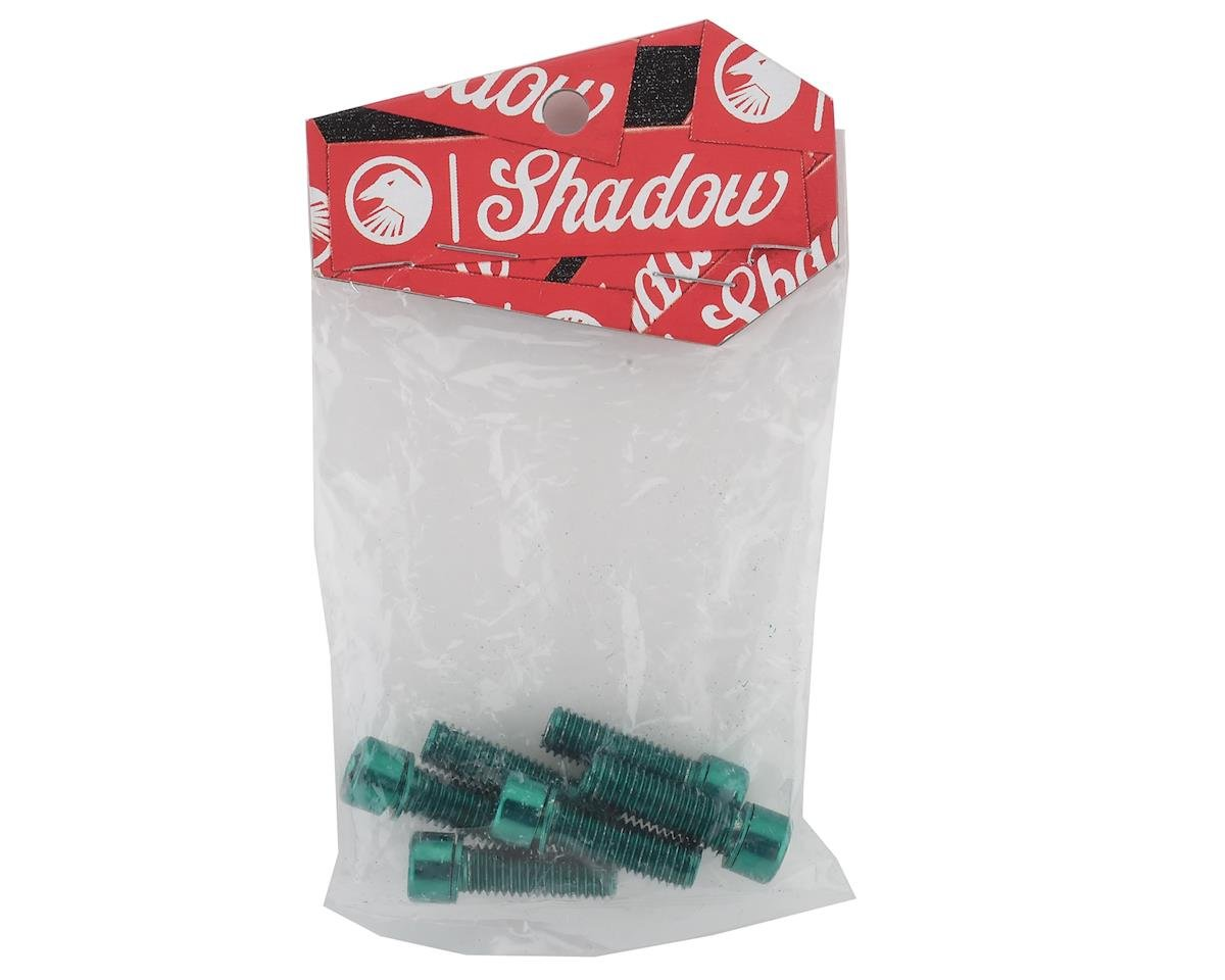 The Shadow Conspiracy Hollow Stem Bolt Kit (Green) (6) (8 x 1.25mm)
