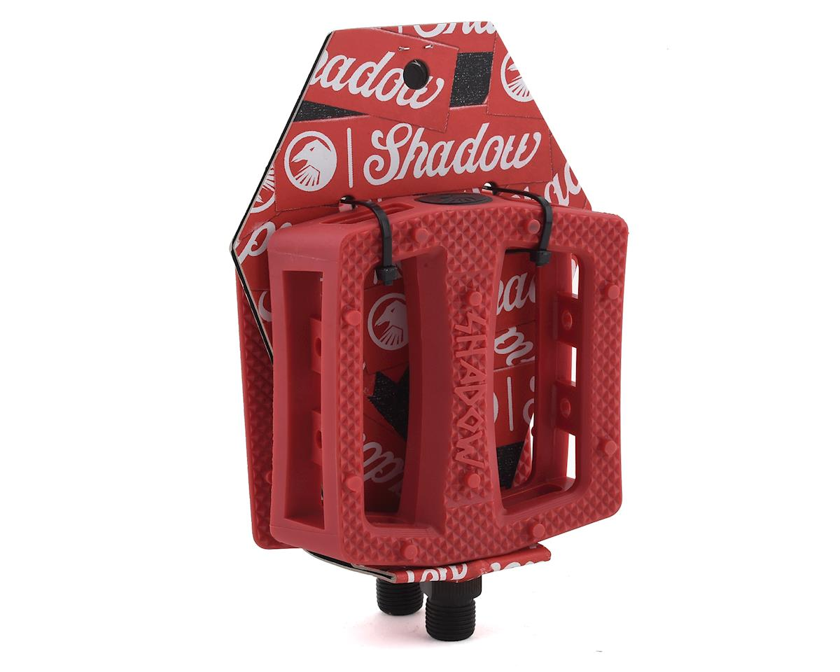 """Image 3 for The Shadow Conspiracy Ravager PC Pedals (Crimson Red) (9/16"""")"""
