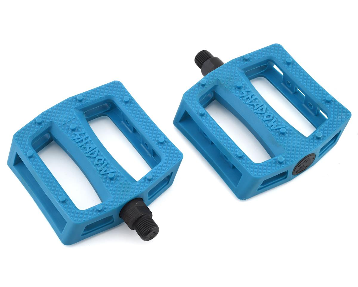 """SHADOW CONSPIRACY RAVAGER 9//16/"""" PC BLUE BICYCLE PEDALS"""