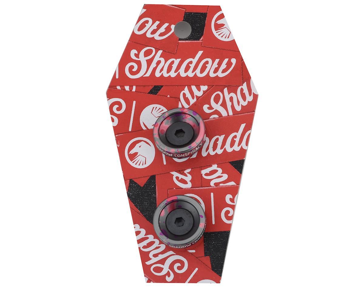 The Shadow Conspiracy Deadbolt Slim Bar Ends (Pair) (Viral Tie-Dye)