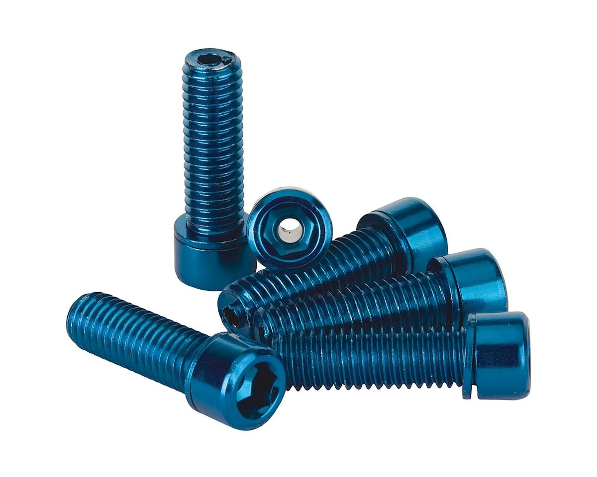The Shadow Conspiracy Hollow Stem Bolt Kit (Blue) (6) (8 x 1.25mm)