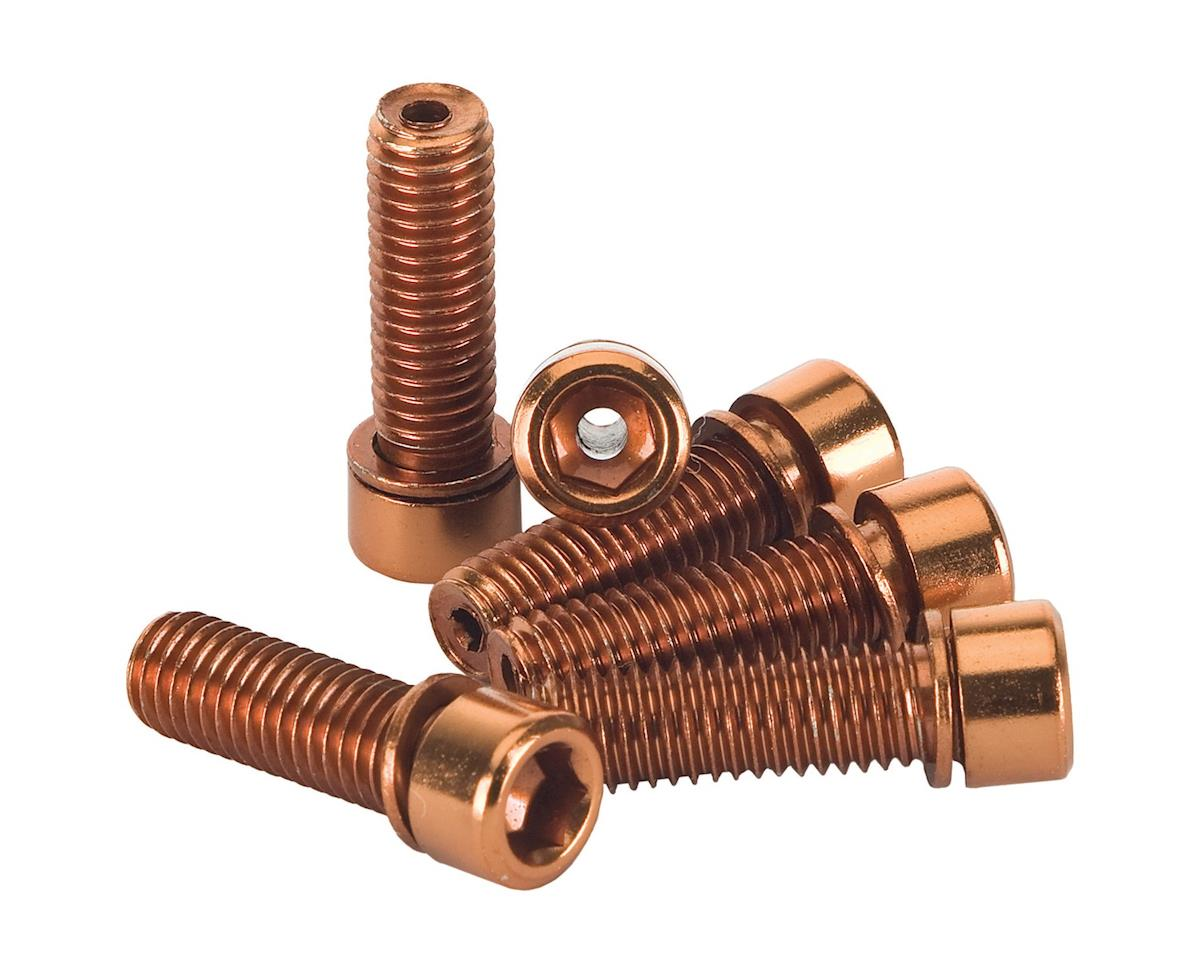 The Shadow Conspiracy Hollow Stem Bolt Kit (Copper) (6) (8 x 1.25mm)