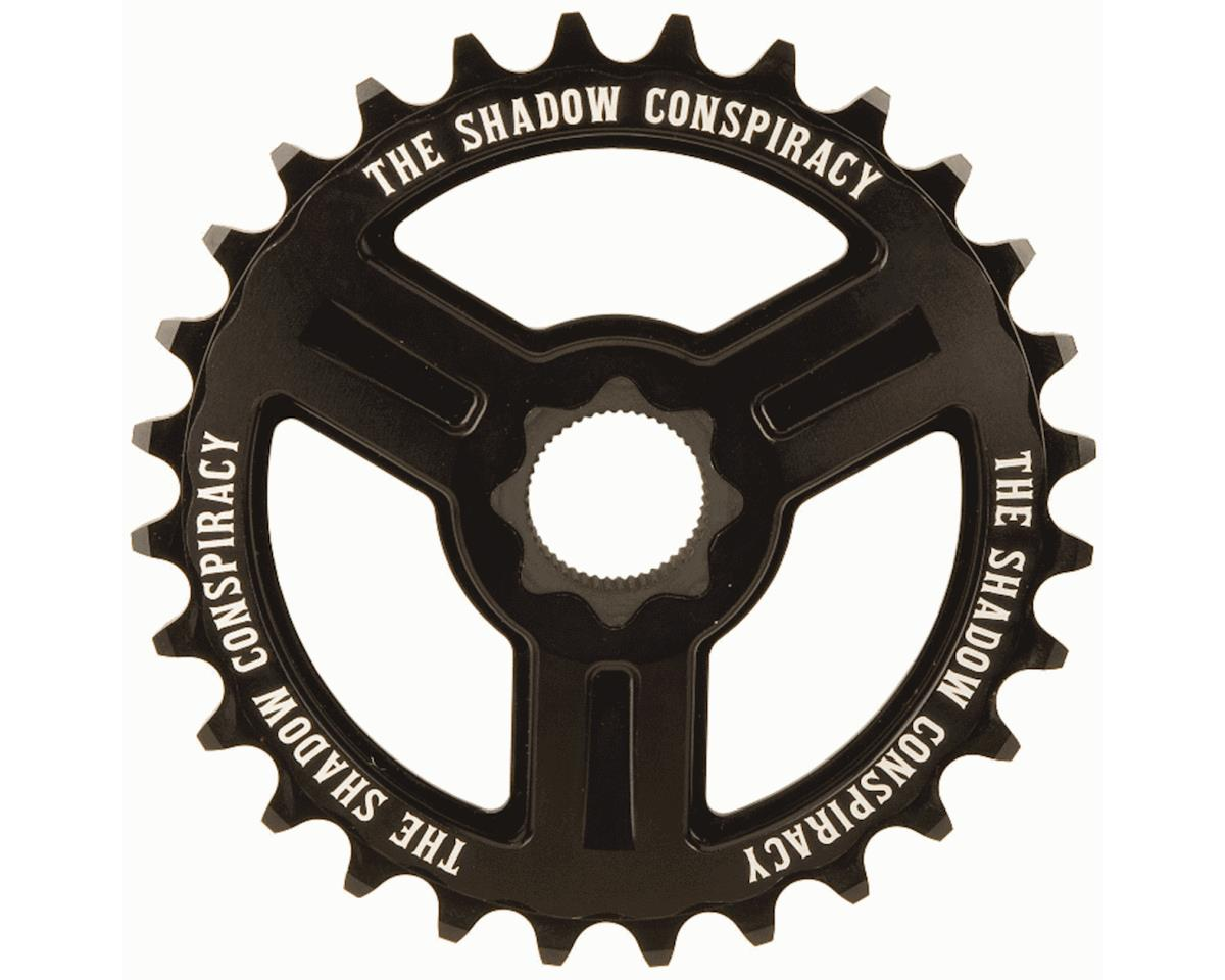 The Shadow Conspiracy Motus Spline Drive Sprocket (Black) (25T)