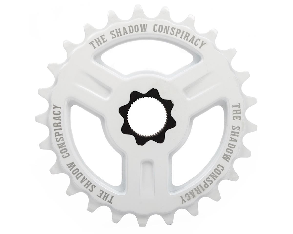 The Shadow Conspiracy Motus Spline Drive Sprocket (White) (25T)
