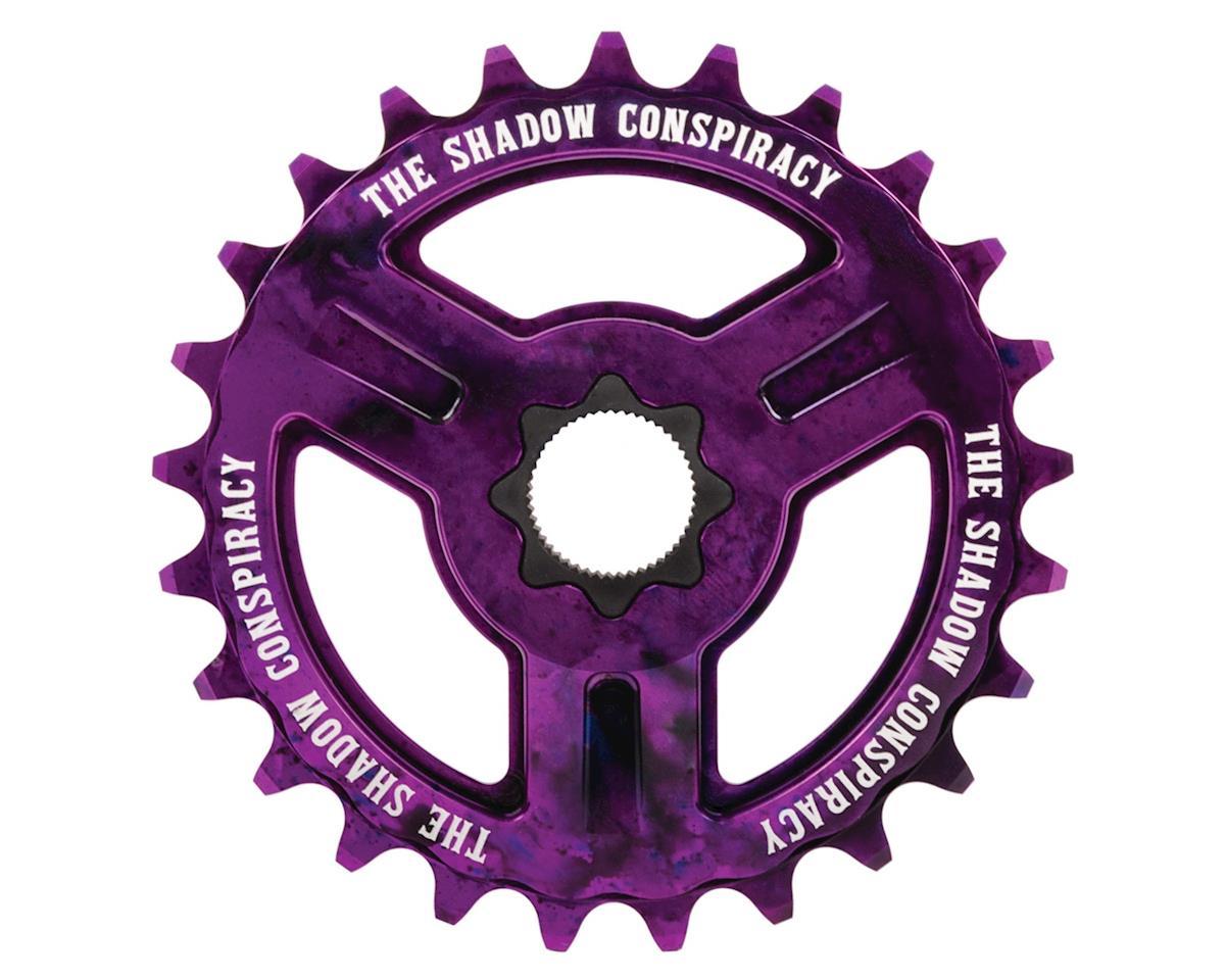 The Shadow Conspiracy Motus Spline Drive Sprocket (Purple Tie Dye) (28T)