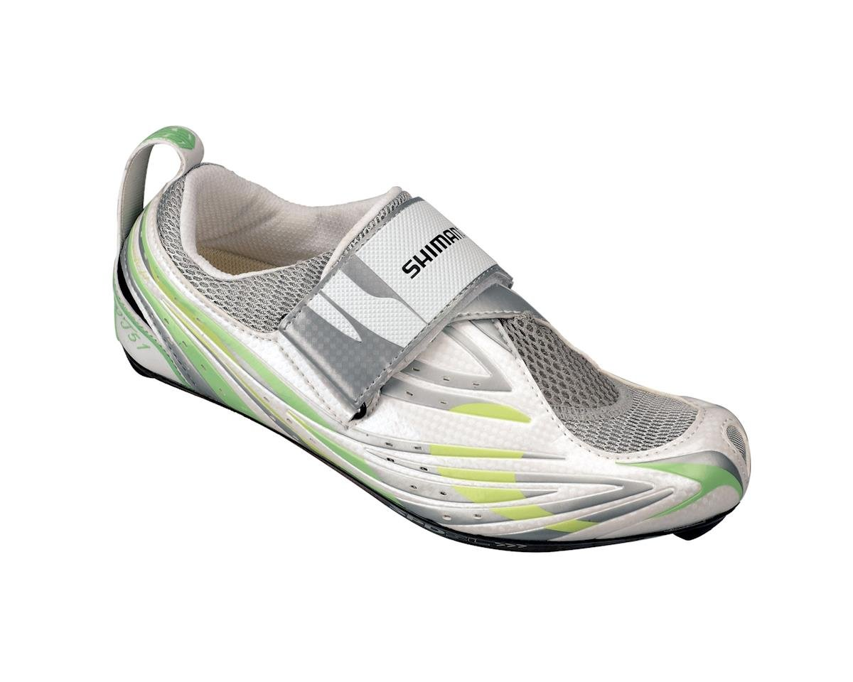 Shimano Women's SH-WT51 Triathlon Shoes (Green/White)