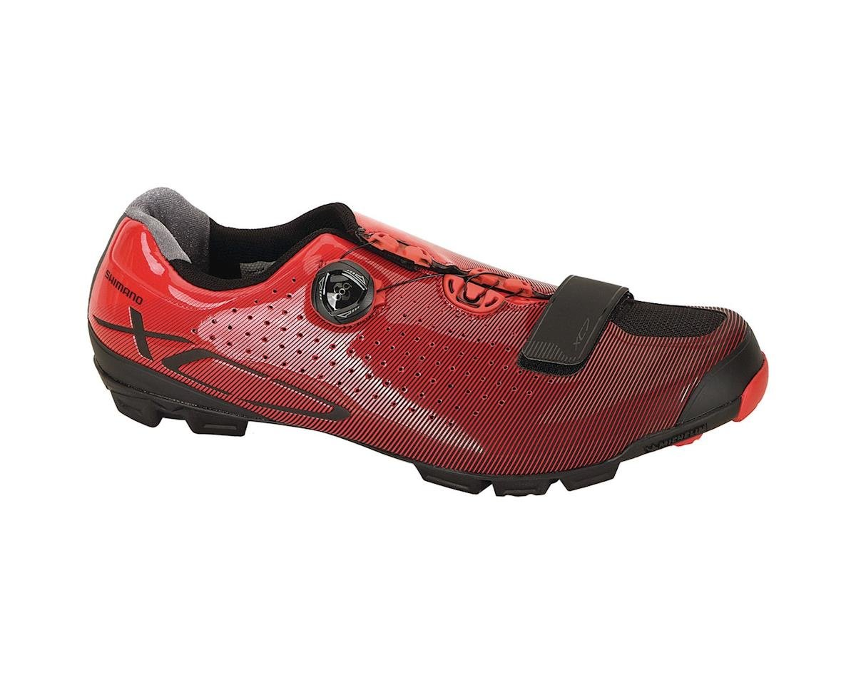Shimano XC7 Clipless Shoes (Red) (SPD) (41 Euro / 7.6 US)
